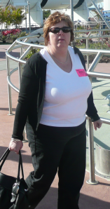 This is me in the USA in 2009 on holiday but not happy with size