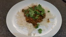 Keema Curry with Rice