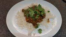 Keema Curry with Rice